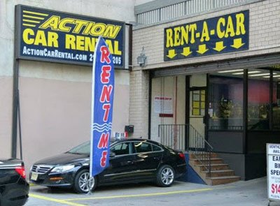 Action Car Rental New York Usa City Yellow Pages