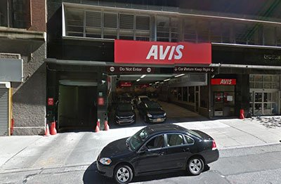 Avis Car Rental New York Usa City Yellow Pages