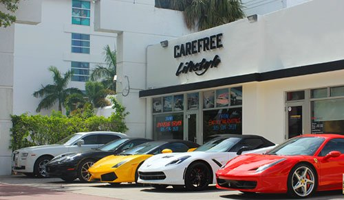 Carefree Exotic Car Rentals New York Usa City Yellow Pages