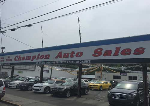 Champions Auto Sales New York Usa City Yellow Pages