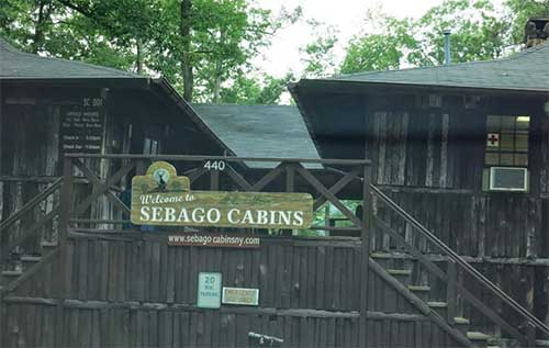 Sebago Cabins Campground New York Usa City Yellow Pages
